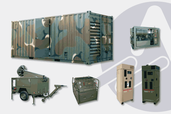 Fixed and Mobile Generators for Defence